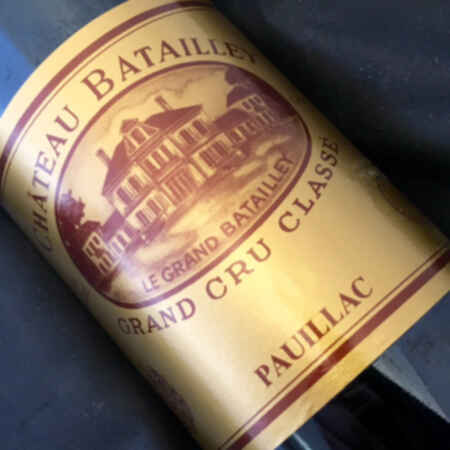 Chateau batailley 1986