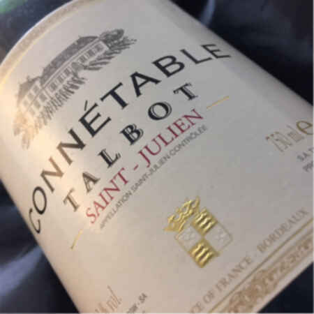 Chateau talbot Connetable de talbot 2004