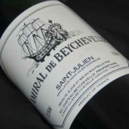 Chateau Beychevelle Amiral De Beychevelle 1981