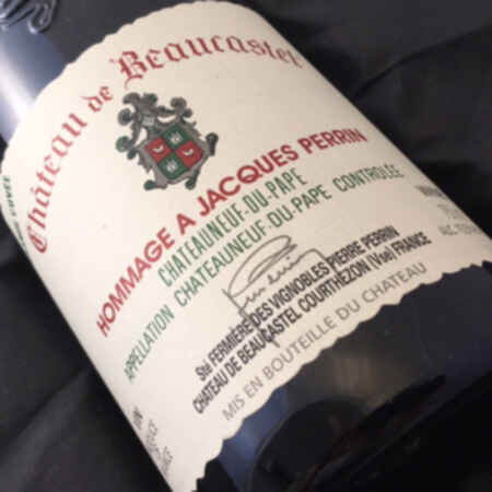 Beaucastel Chateauneuf Du Pape  Hommage A Jacques Perrin 1999
