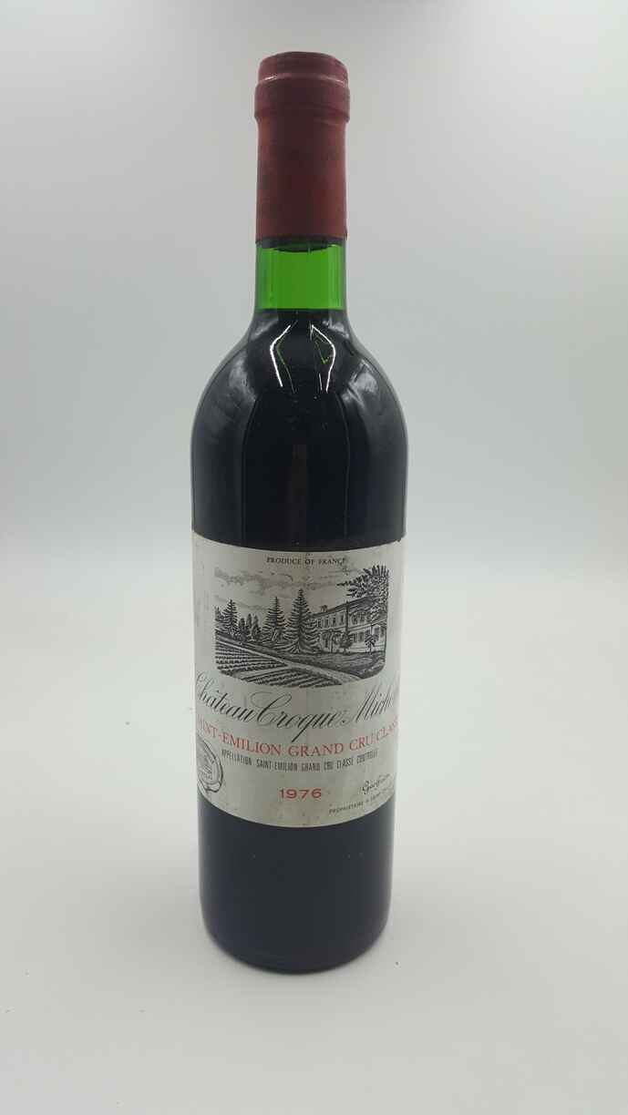 Chateau Croque Michotte 1976