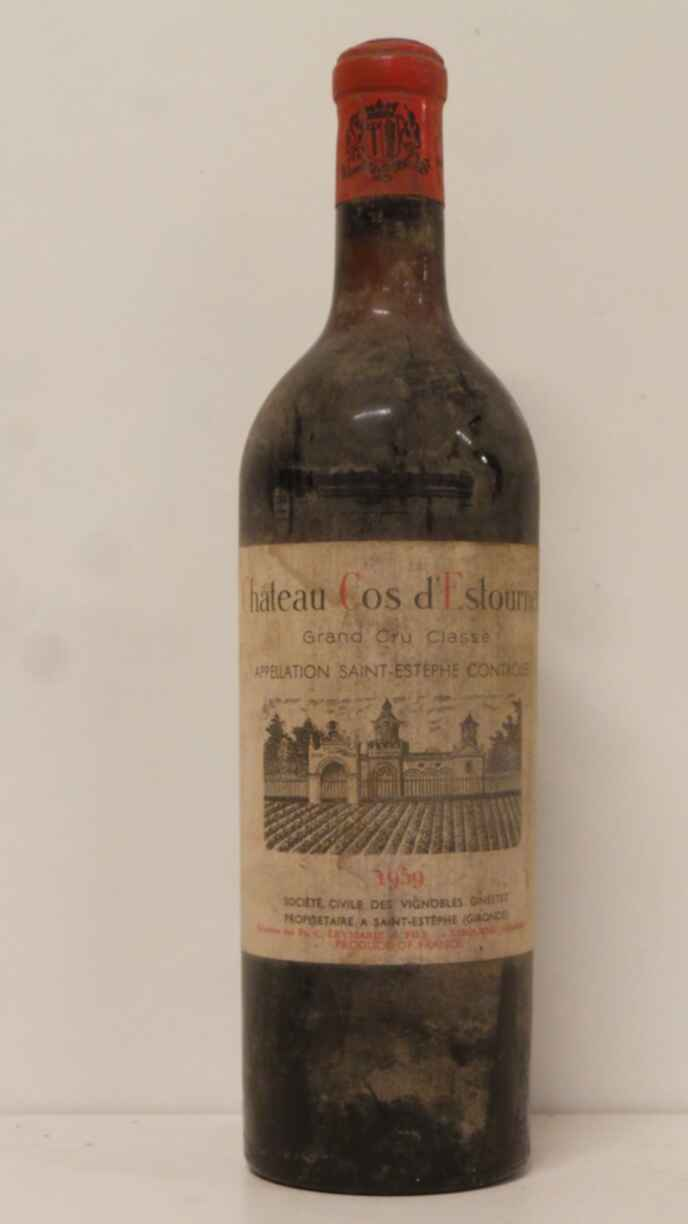 Chateau Cos D`estournel 1959
