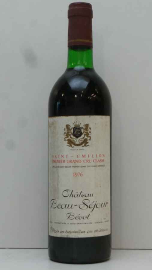 Chateau Beausejour Becot 1976