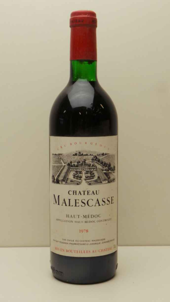 Chateau Malescasse 1978