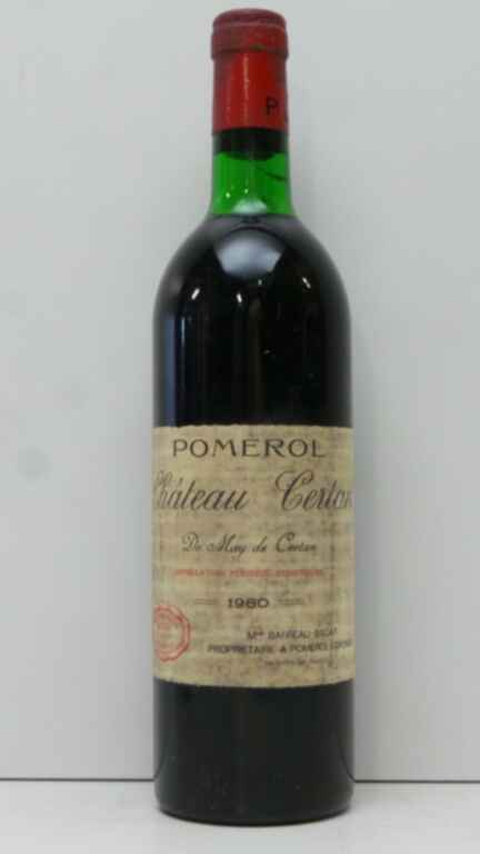 Chateau Certan De May De Certan 1980
