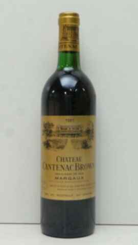 Chateau Cantenac Brown 1981