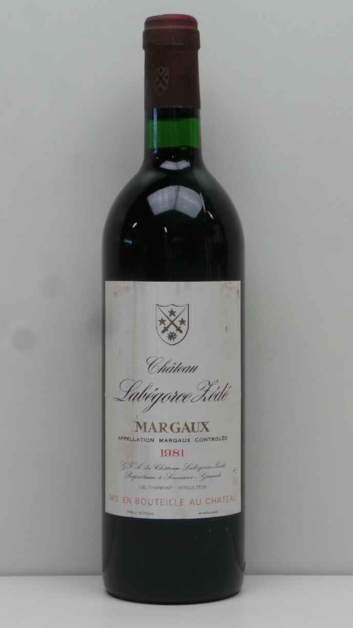 Chateau Labegorce Zede 1981