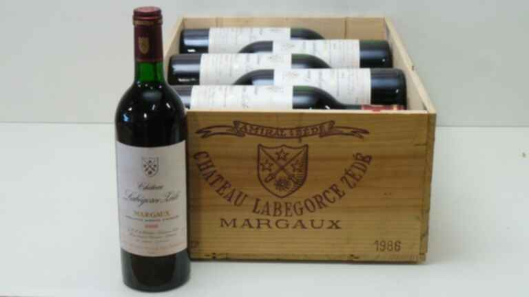 Chateau Labegorce Zede 1986