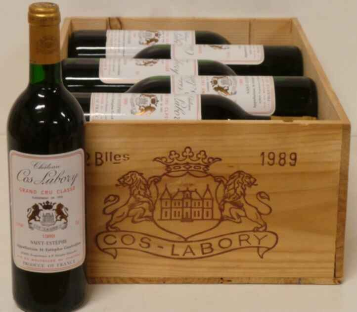 Chateau Cos Labory 1989
