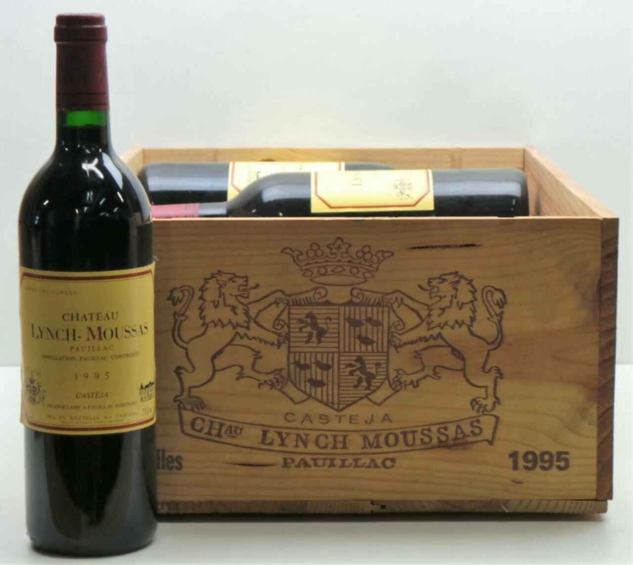 Chateau Lynch Moussas 1995