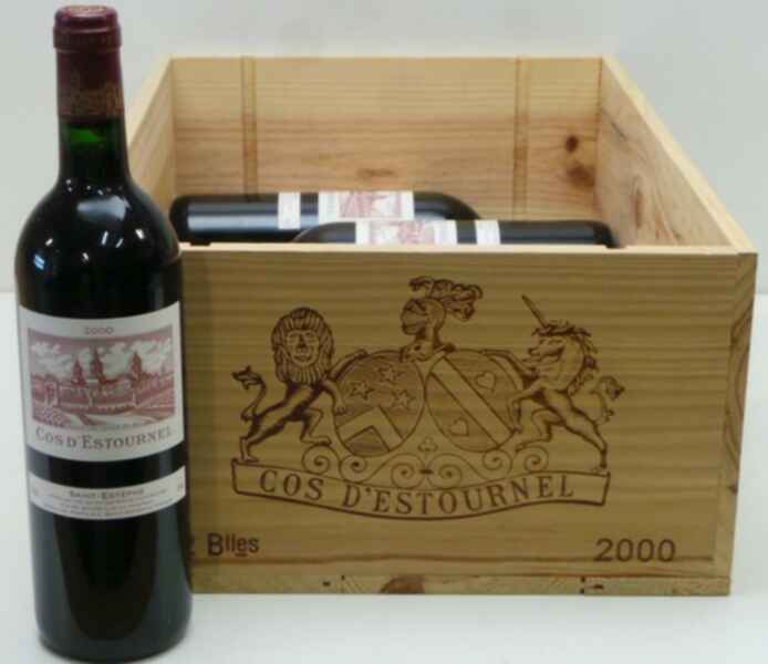 Chateau Cos D`estournel 2000
