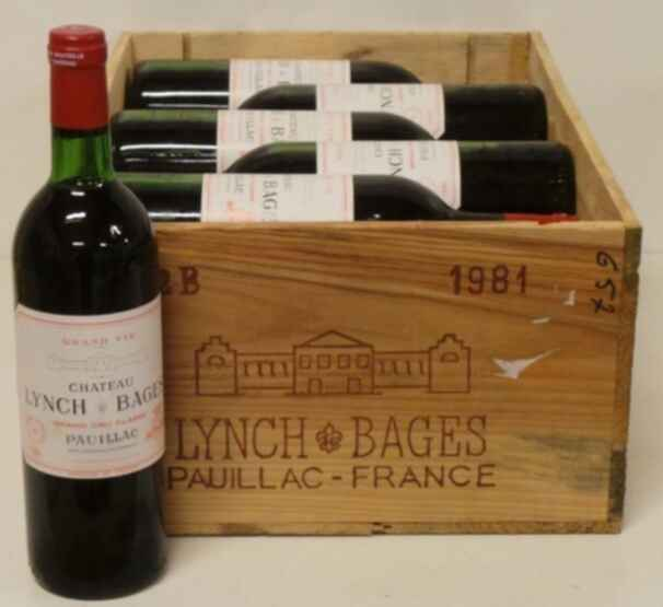 Chateau Lynch Bages 1981