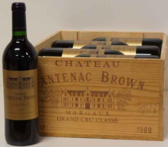 Chateau Cantenac Brown 1989