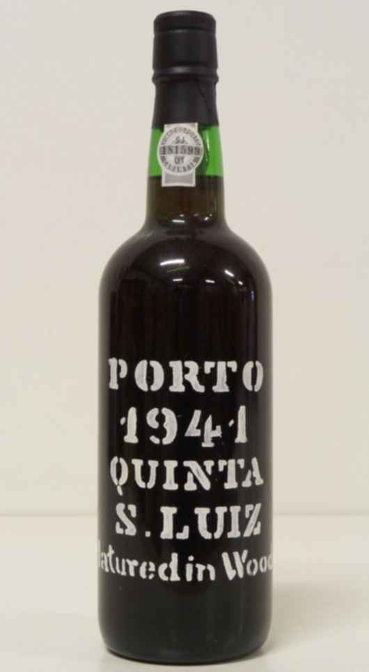 Quinta S. Luiz Vintage Port by Kopke  Matured in wood 1941