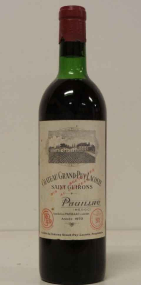 Chateau Grand-puy-lacoste 1970