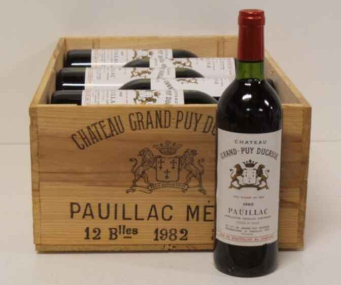 Chateau Grand-puy-ducasse 1982