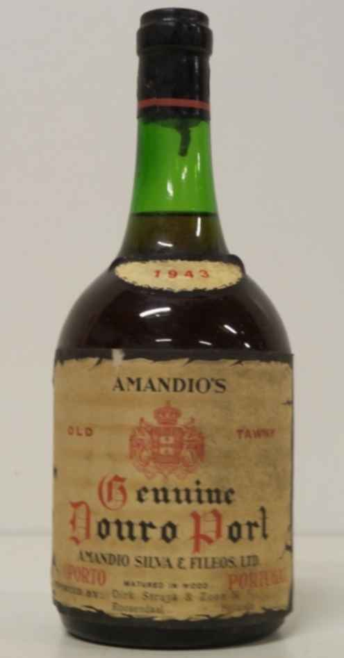 Amandio`s Old Tawny Genuine Douro Port 1943