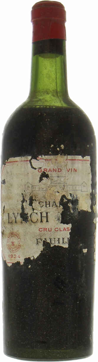 Chateau Lynch Bages 1934