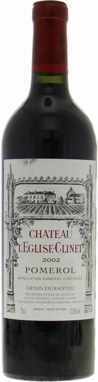Chateau Eglise Clinet 2002