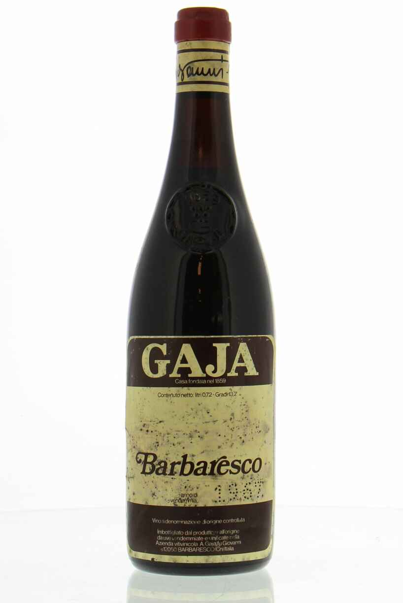 Gaja Barbaresco 1967