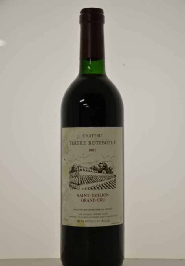 Chateau Tertre Roteboeuf 1987