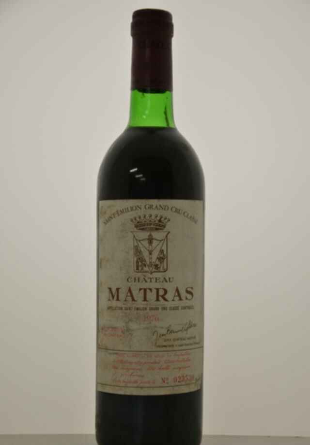 Chateau Matras 1976