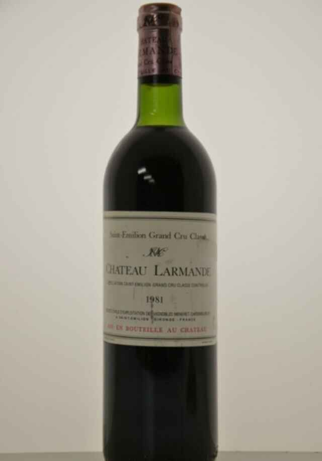 Chateau Larmande 1981