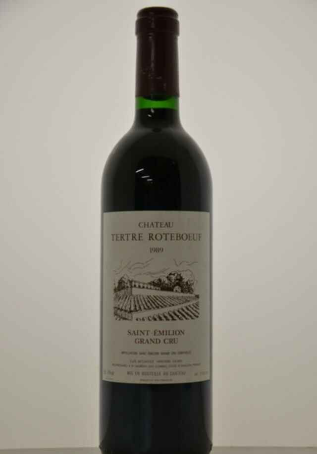 Chateau Tertre Roteboeuf 1989