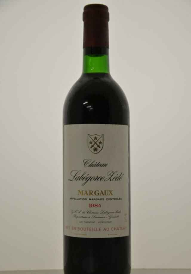 Chateau Labegorce Zede 1984