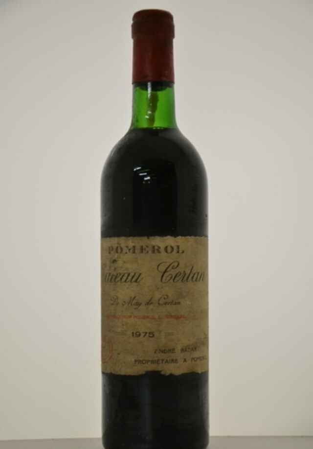 Chateau Certan De May 1975