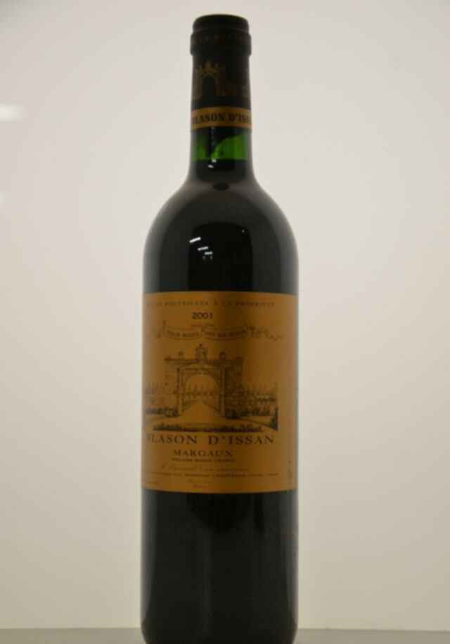 Chateau D'issan Blason D'issan 2001