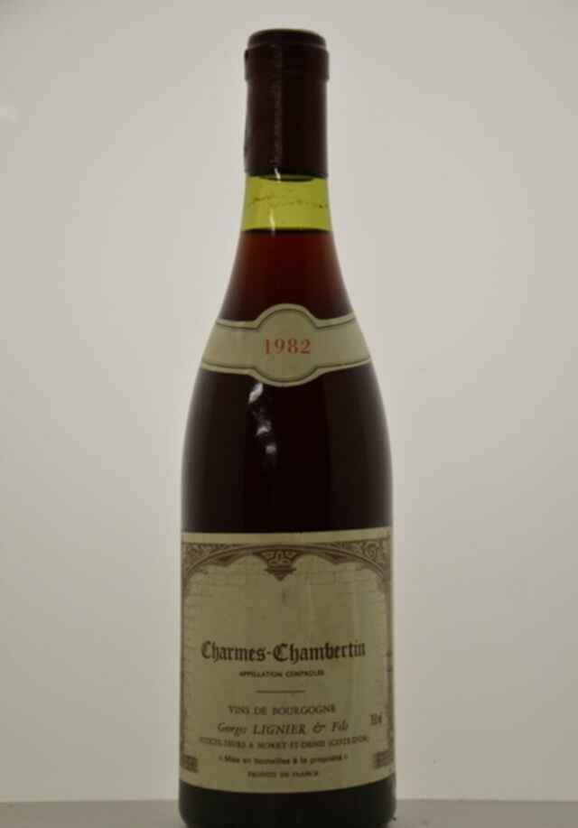 Georges Lignier Charmes Chambertin 1982