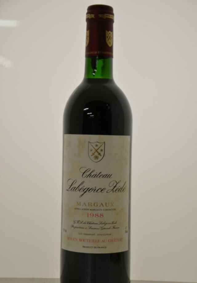 Chateau Labegorce Zede 1988