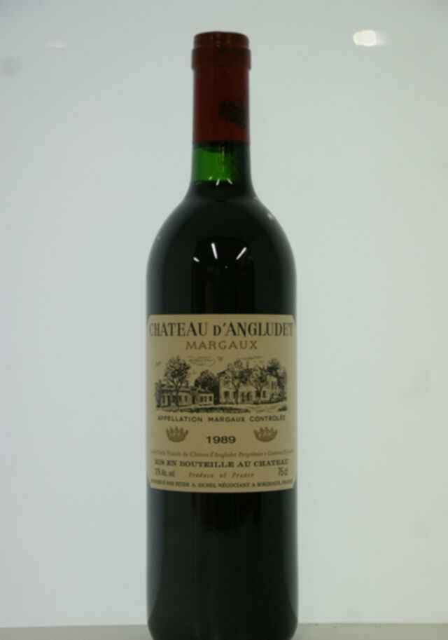 Chateau D'angludet 1989