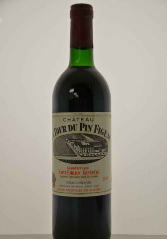 Chateau Tour Du Pin Figeac 1989