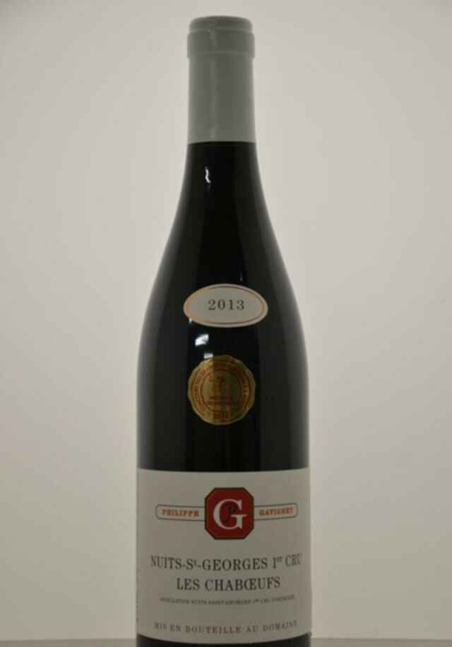 Philippe Gavignet Nuits St Georges Les Chaboeufs 2013