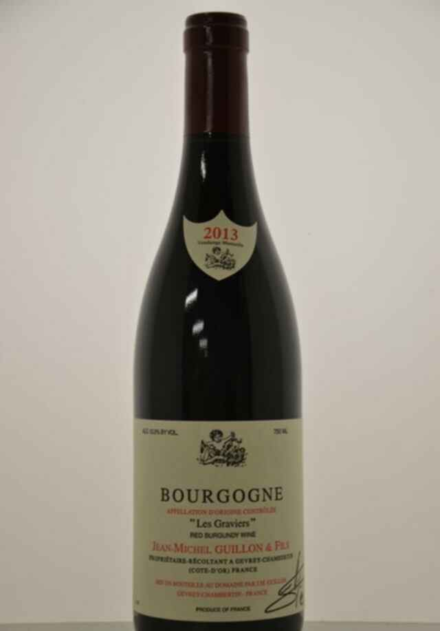 Jean Michel Guillon Bourgogne Rouge Les Graviers 2013