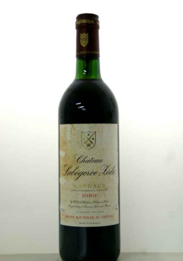 Chateau Labegorce Zede 1989