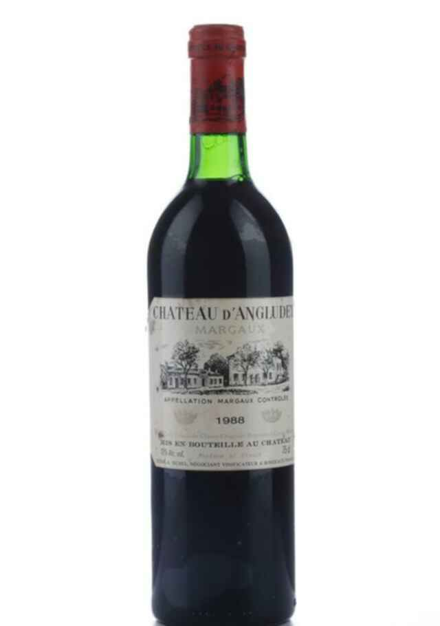 Chateau D'angludet 1988