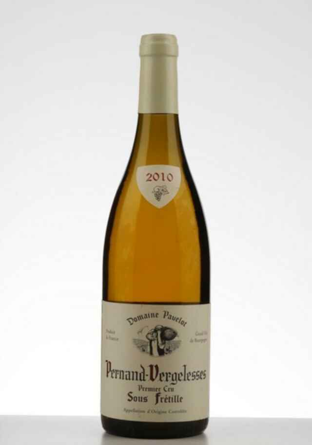 Pavelot Pernand Vergelesses Blanc Sous Fretille 2010