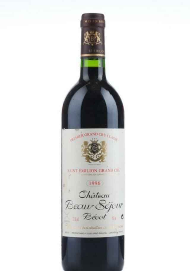 Chateau Beausejour Becot 1996