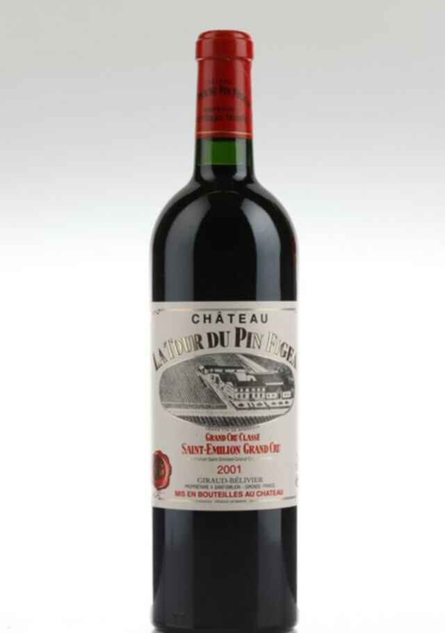 Chateau La Tour Du Pin Figeac 2001