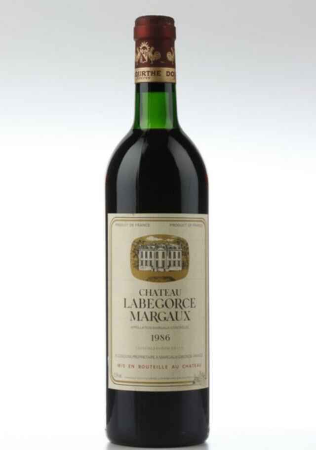 Chateau Labegorce 1986