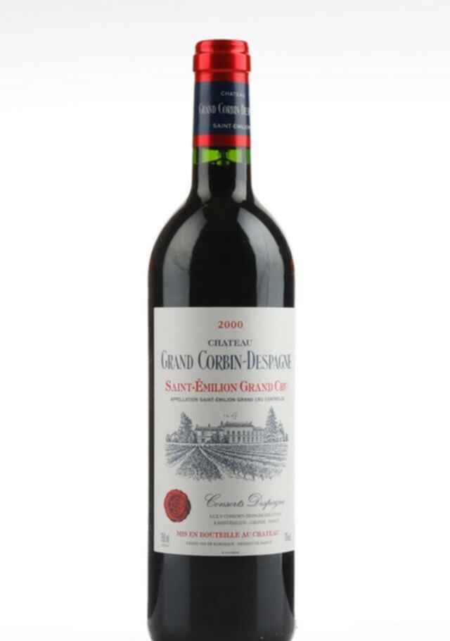 Chateau Grand Corbin Despagne 2000