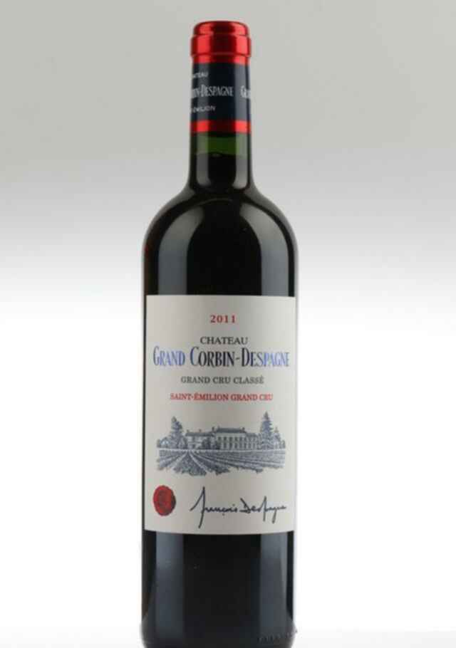Chateau Grand Corbin Despagne 2011