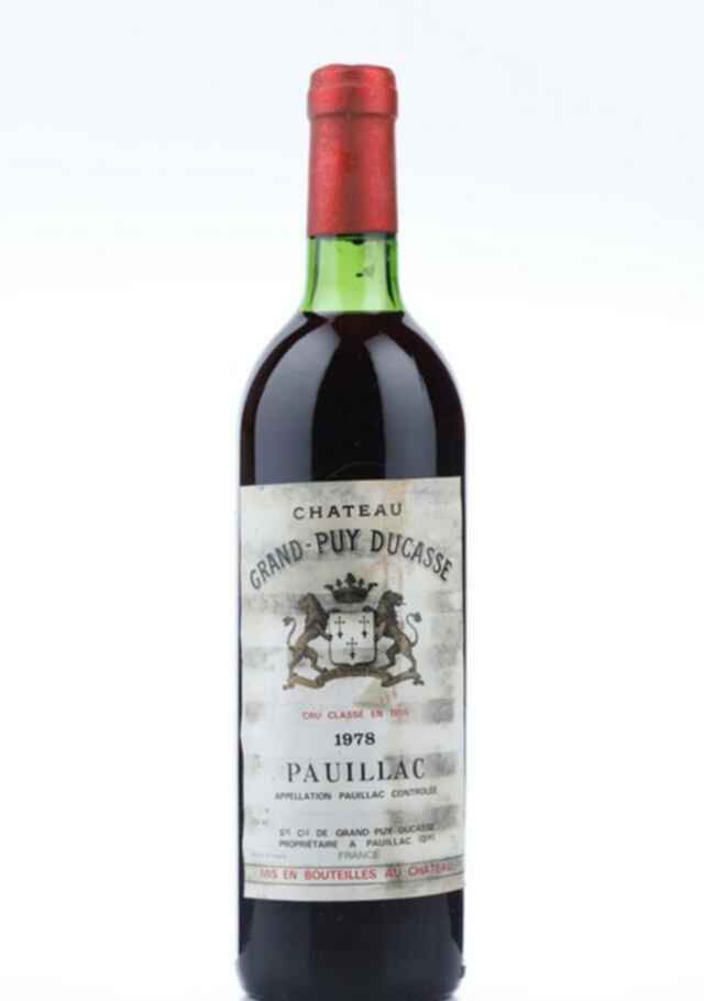 Chateau Grand-puy-ducasse 1978