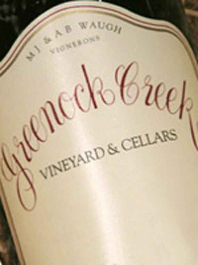 Greenock Creek Cornerstone Grenache 2001