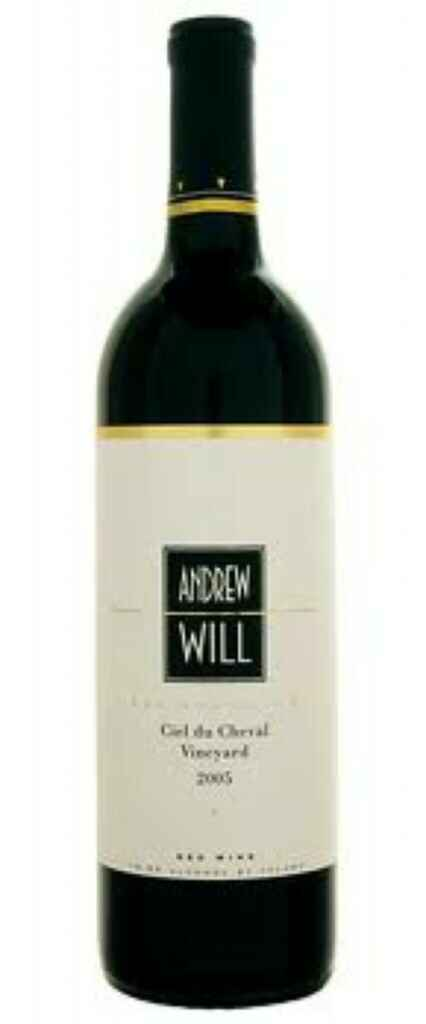 Andrew Will Ciel Du Chavel Vineyad Red Wine 2005