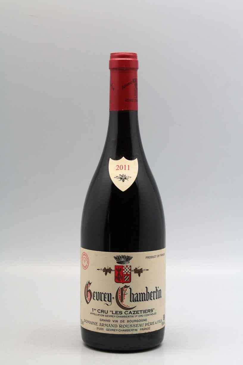 Armand Rousseau Gevrey Chambertin Les Cazetiers 2011
