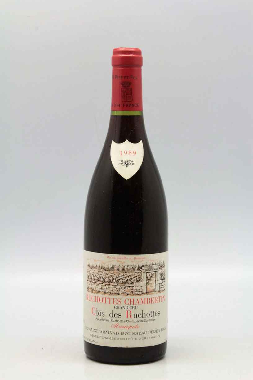 Armand Rousseau Ruchottes Chambertin Clos Des Ruchottes 1990